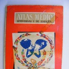 Libros de segunda mano: ATLAS MEDIO, AGUILAR, 1962. Lote 21422007