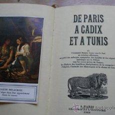 Libros de segunda mano - De Paris à Cadix et à Tunis. Dumas (Alexandre) - 21490408