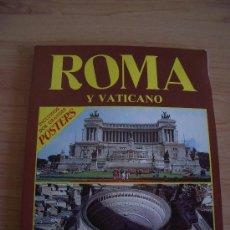 Libros de segunda mano: ROMA Y VATICANO, LIBRO GUIA EDITADO EN ITALIA POR PLURIGRAF. 1990. Lote 26792227