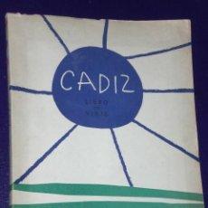 Libros de segunda mano: CADIZ. LIBRO DE VIAJE.. Lote 25325707