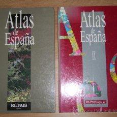 Libros de segunda mano: ATLAS DE ESPAÑA 2T POR AGUILAR / EL PAÍS EN BARCELONA 1992-1993. Lote 135481945