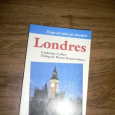 Libros de segunda mano: LONDRES, GUIA DE VIAJE, EN CATALÁN. Lote 27388153