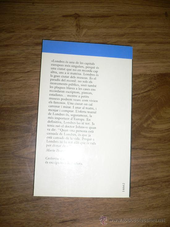 Libros de segunda mano: LONDRES, GUIA DE VIAJE, EN CATALÁN - Foto 2 - 27388153