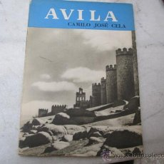 Libros de segunda mano: AVILA - CAMILO JOSE CELA. EDI NOGUER - S/F PERO APROX 1950 - EN INGLES .CORREO 2.8€ . Lote 22808374