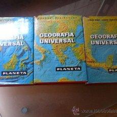 Libros de segunda mano: GEOGRAFIA UNIVERSAL LAROUSSE, EDITORIAL PLANETA 1.966 - 3 TOMOS. Lote 22897122