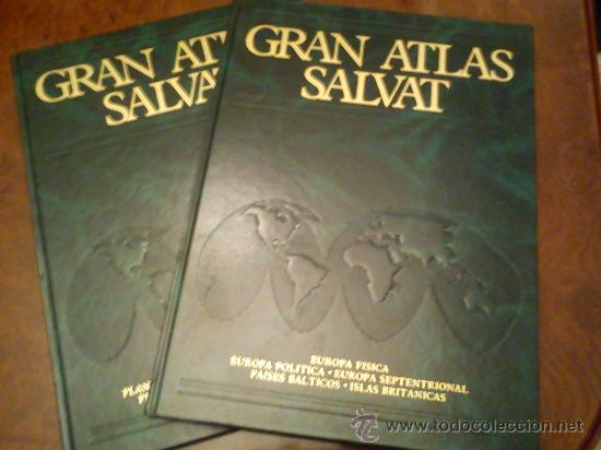 GRAN ATLAS SALVAT (Libros de Segunda Mano - Geografía y Viajes)