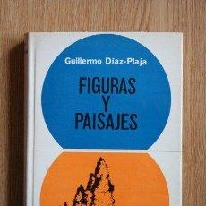 Libros de segunda mano: FIGURAS Y PAISAJES. DÍAZ-PLAJA (GUILLERMO). Lote 24113738