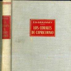 Libros de segunda mano: OMMANNEY : LOS CORALES DE CAPRICORNIO (LABOR) EXPLORACIONES PESQUERAS EN EL ÍNDICO. Lote 26673708