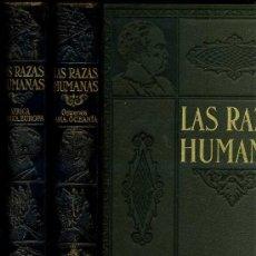 Libros de segunda mano: GALLACH . LAS RAZAS HUMANAS -DOS TOMOS. Lote 26894929