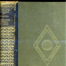 Libros de segunda mano: GEOGRAFÍA DE EUROPA CENTRAL (MONTANER & SIMÓN, 1948). Lote 25745395