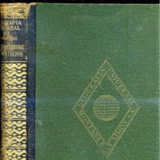 Libros de segunda mano: GEOGRAFÍA DE ESTADOS UNIDOS (MONTANER & SIMÓN, 1948). Lote 25745620