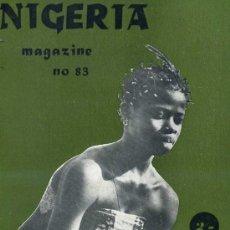 Libros de segunda mano: NIGERIA MAGAZINE Nº83 -DECEMBER 1964. Lote 26086133