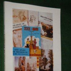Libros de segunda mano: ALBUM DEL XXXVI APLEC DE MATAGALLS - 1985 (EN CATALAN). Lote 26936410