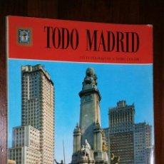 Libros de segunda mano: TODO MADRID POR EQUIPO FISA DE ED. ESCUDO DE ORO EN BARCELONA 1980 2ª EDICIÓN. Lote 27679031