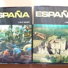 Libros de segunda mano: ESPAÑA; J, VILÁ VALENTÍ, 2 TOMOS.. Lote 27769209