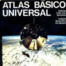 Libros de segunda mano: TEIDE / DE AGOSTINI : ATLAS BÁSICO UNIVERSAL (1975). Lote 28221361