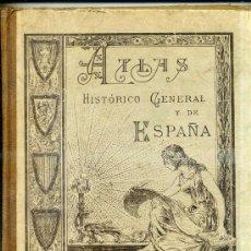 Libros de segunda mano: SALINAS : ATLAS HISTÓRICO GENERAL Y DE ESPAÑA 1948. Lote 28221751