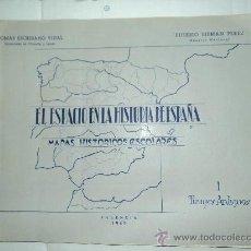 Libros de segunda mano: EL ESPACIO EN LA HISTORIA DE ESPAÑA. Lote 28274029