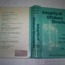 Libros de segunda mano: INTEGRITY OF OFFSHORE STRUCTURES D. FAULKNER M. J. COWLING P. A. FRIEZE RM53054. Lote 28378430
