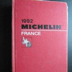 Libros de segunda mano: MICHELIN 1992. FRANCE. . Lote 28425962