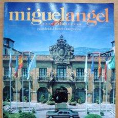 Libros de segunda mano: REVISTA DE LOS HOTELES OCCIDENTAL EL HOTEL MIGUELANGEL CLUB EN BARCELONA 1995 EN INGLÉS. Lote 28445264