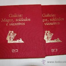 Libros de segunda mano: GALICIA: MAGOS, SOLDADOS E VIAXEIROS. GONZALO ALLEGUE (COORD.) RM52678. Lote 28663456