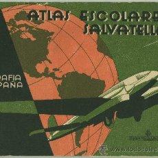 Libros de segunda mano: ATLAS ESCOLARES SALVATELLA.. Lote 29387316