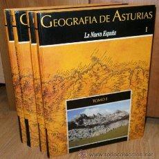 Libros de segunda mano: GEOGRAFÍA DE ASTURIAS 4T POR GUILLERMO MORALES MATOS Y OTROS DE PRENSA ASTURIANA EN OVIEDO 1992. Lote 58230709