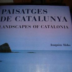 Libros de segunda mano: (149) PAISATGES DE CATALUNYA - LANDSCAPES OF CATALONIA. Lote 29591216