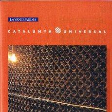 Libros de segunda mano: EL CAVA - CATALUNYA UNIVERSAL - Nº 15 - CARPETA CON 1 FASCÍCULO Y TRES FOTOS . Lote 29635150