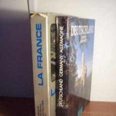 Libros de segunda mano: 2 BONITOS LIBROS DE FRANCIA Y ALEMANIA (TEXTO EN FRANCES - ALEMAN - INGLES). Lote 29777020