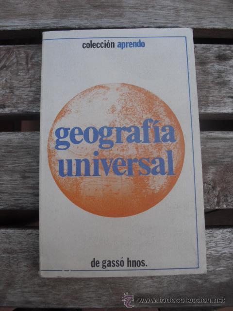 LIBRO GEOGRAFIA UNIVERSAL (Libros de Segunda Mano - Geografía y Viajes)