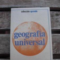Libros de segunda mano: LIBRO GEOGRAFIA UNIVERSAL. Lote 29993222