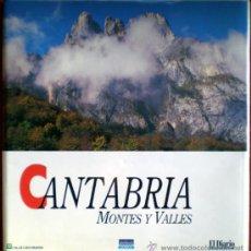 Libros de segunda mano: CANTABRIA MONTES Y VALLES;EL DIARIO MONTAÑÉS 1996-34 FASCÍCULOS-CASI COMPLETO. Lote 30070078