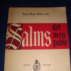 Libros de segunda mano: (254) SALMS DEL MEU POBLE (VALLS) ESTUDIS VALLENCS. Lote 30409968
