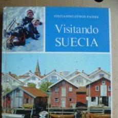Livres d'occasion: VISITANDO SUECIA - LIBRO DE TAPA DURA CON NUMEROSAS FOTOGRAFIAS . Lote 33690724