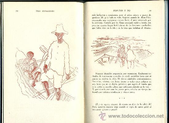 Libros de segunda mano: KON-TIKI Y YO - ERIK HESSELBERG - Foto 3 - 30607543