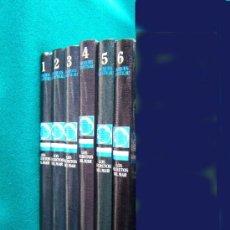 Libros de segunda mano: LOS SECRETOS DEL MAR - ENCICLOPEDIA DEL MAR 6 TOMOS + VIAJES 6 TOMOS + ALBUM CROMOS -1983 - 1ª EDIC.. Lote 30975527