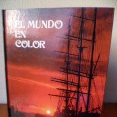 Libros de segunda mano: EL MUNDO EN COLOR - WILLIAM MACQUITTY - CIENTOS DE MAPAS Y FOTOS EN COLOR DE TODO EL MUNDO - 1978 . Lote 31335856