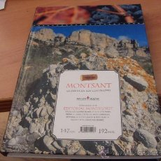 Libros de segunda mano: MONTSANT . LA SIERRA DE LOS CONTRASTES. 147 FOTOS (LE4). Lote 31393263