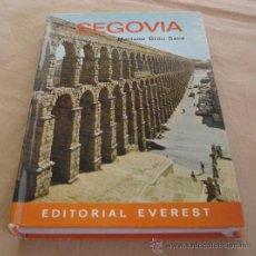 Libros de segunda mano: GUIA EVEREST - SEGOVIA - MARIANO GRAU SANZ - 1969.. Lote 31518550