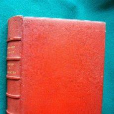 Libros de segunda mano: MARES Y CIUDADES - MANUEL BOSCH BARRETT - 1947 -UNICA EDICION PIEL LUJO 270 EJEMPL. Nº 208- MUY RARO. Lote 31557412