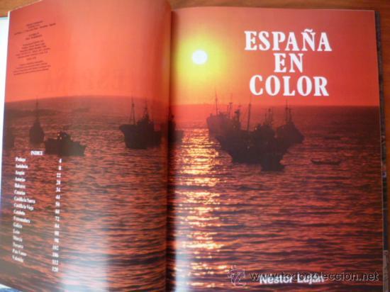 Libros de segunda mano: ESPAÑA EN COLOR - NESTOR LUJAN - TODAS LAS COMUNIDADES AUTONOMAS - CEDAG - 1979 - 1ª EDICION - Foto 2 - 31560565