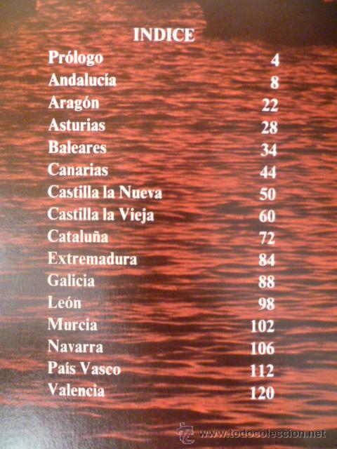 Libros de segunda mano: ESPAÑA EN COLOR - NESTOR LUJAN - TODAS LAS COMUNIDADES AUTONOMAS - CEDAG - 1979 - 1ª EDICION - Foto 3 - 31560565