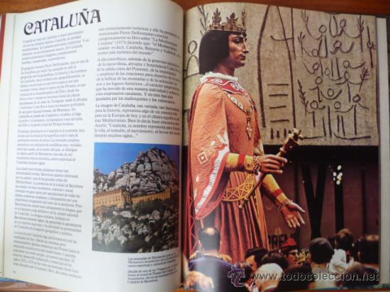 Libros de segunda mano: ESPAÑA EN COLOR - NESTOR LUJAN - TODAS LAS COMUNIDADES AUTONOMAS - CEDAG - 1979 - 1ª EDICION - Foto 5 - 31560565