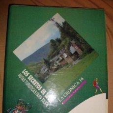 Libros de segunda mano: LOS SECRETOS DE LEÓN RUTAS TURÍSTICAS PARA TODOS 16 FASCÍCULOS Y TAPAS, LA CRÓNICA 16 DE LEÓN 1995. Lote 31854840