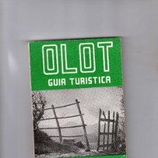 Libros de segunda mano: GUIA TURÍSTICA DE OLOT POR ALEJANDRO CUÉLLAR, 213 FOT. PLANOS, DIBUJOS, INCLUYE GUIA COMERCIAL. Lote 32091766