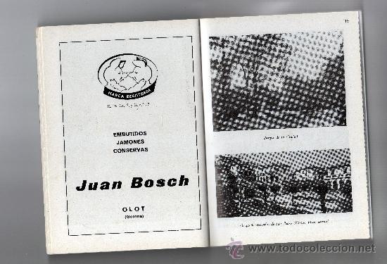 Libros de segunda mano: GUIA TURÍSTICA DE OLOT por ALEJANDRO CUÉLLAR, 213 FOT. PLANOS, DIBUJOS, INCLUYE GUIA COMERCIAL - Foto 3 - 32091766