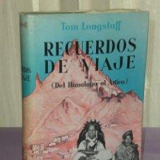 Libros de segunda mano: RECUERDOS DE VIAJE. (DEL HIMALAYA AL ÁRTICO.). Lote 32011030
