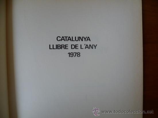 Libros de segunda mano: CATALUNYA LLIBRE DE LÁNY 1978 - Foto 3 - 32102373